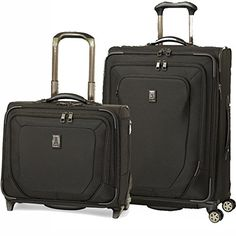 Travelpro Crew 10 2 Piece Luggage Set with 25 inch Spinner and Wheeled Tote  http://www.alltravelbag.com/travelpro-crew-10-2-piece-luggage-set-with-25-inch-spinner-and-wheeled-tote-2/