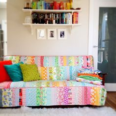 quilted sofa slipcover