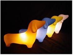 dachshund lamp