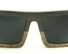 Wooden Sunglasses handmade from upcycled skateboards by Wooden Sunglasses, Skateboards, Eyewear, Upcycle, Trending Outfits, Grey, Unique Jewelry, Vintage, Fashion