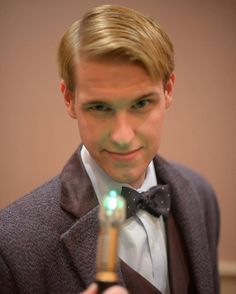 Pin for Later: 27 Wonderful Doctor Who Costume Ideas For Whovians Eleven This guy's got it down.