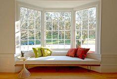 ventanas con asiento modernas - Buscar con Google