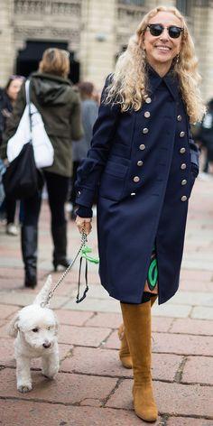 Franca Sozzani at Milan Fashion Week