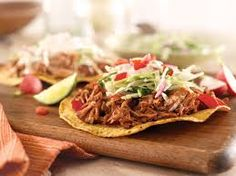 21 Day Fix Recipes - Carnitas Tostadas - for more info on the 21 Day Fix program contact Marilyn at becomingyoufitness@gmail.com
