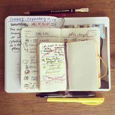 """AUSTIN KLEON's """"Notebook Turducken""""."""