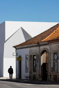 Aires Mateus Community Centre in Grândola, Portugal | https://www.yellowtrace.com.au/aires-mateus-community-centre-grandola/