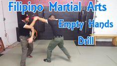 Filipino Martial Arts | Empty Hand Form and Pad Drill