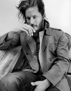 Oh No They Didn't! - Travis Fimmel for Flaunt Magazine