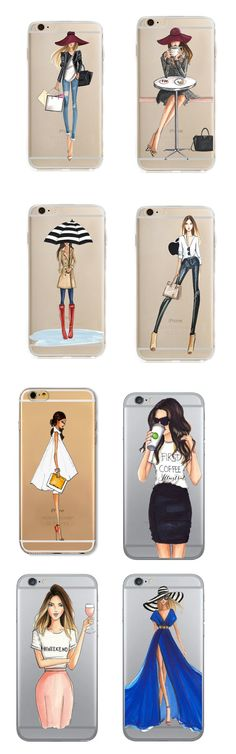 Chic Girl iPhone Case