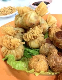 teochew cuisine money bags :D