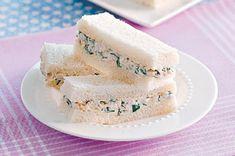 Dainty Finger Sandwiches Recipes   Apple Chicken Finger Sandwiches