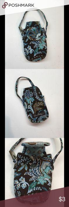Old Vera Bradley phone holder Blue and brown pattern Vera Bradley Other