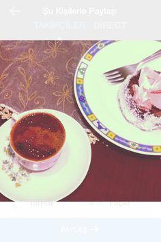 Bol köpüklü kahve ve imam sarığı tarifim :)