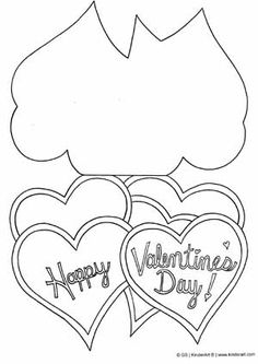 Print  color valentines  Craft ideas for Kids  Pinterest