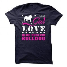 Olde English Bulldog - #free t shirt #hoddies. PURCHASE NOW => https://www.sunfrog.com/Pets/Olde-English-Bulldog-87935638-Guys.html?60505