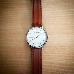 Ben Sherman Watch With A Leather Strap