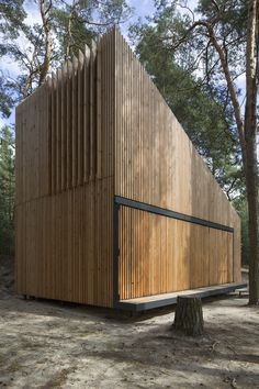 Image 23 of 37 from gallery of Lake Cabin / FAM Architekti + Feilden+Mawson. Photograph by Tomas Balej
