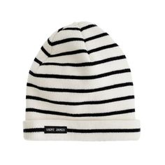 Shop the Boys' Saint James stripe knit cap at J.Crew and see the entire selection of Boys' Accessories. Find Boys' clothing & accessories at J. Saint James, Toddler Outfits, Boy Outfits, Baby Winter Hats, Kid Swag, Boys Ties, Boys Underwear, Boys Accessories, J Crew Men