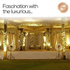 It's a day to celebrate the evening. At F, we make a wedding memorable and worthwhile.