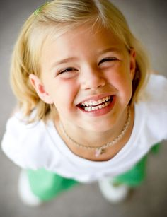 Cute Smile! Take care of her skin with Bottoms UP kids skincare line from BAREINDULGENCE.NET. Natural, Eco-friendly Economical!