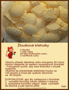 Via nocne pecivo Candy Recipes, Sweet Recipes, Baking Recipes, Cookie Recipes, Christmas Sweets, Christmas Candy, Christmas Cookies, How Sweet Eats, Four