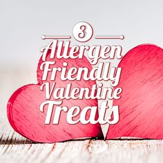 3 Allergy-Friendly Valentine Treats - Country Home Learning Center Little Valentine, Valentine Treats, Home Learning, Learning Centers, Milk Allergy, Heart Shaped Cookies, Chocolate Treats, Party Treats, School Snacks