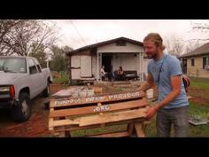 Food is Free Project: How to Build a Raised Wicking Bed!  Of course it includes PALLETS!