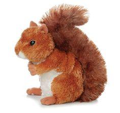 "Kids Stuffed Squirrel Boys Girls Toy Child Soft Play Baby Fun Plush Game Gift 7"" #Auror #Custom"
