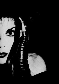 Patricia Morrison, Sisters of Mercy  (cult classic gothic inspiration!)