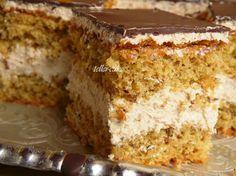 teller-cake: Finom torta - dióval és nosztalgiával :)
