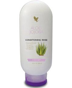 Contains jojoba and vitamin B to help nourish, protect and strengthen the hair, this pH-balanced conditioner gives hair a silky, salon-look finish. Enriched with nourishing oils and vitamins, this product provides a great result when used in conjunction with the Aloe-Jojoba Shampoo. Available To Buy Direct From My Online Store - https://www.foreverliving.com/retail/entry/Shop.do?store=GBR&language=en&distribID=440500033264&itemCode=261