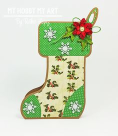 Stocking Box, The Cutting Cafe, Ruthie Lopez, Navidad. 2