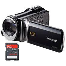Samsung F90BN HD Flash Memory Camcorder & Free 16GB Memory Card