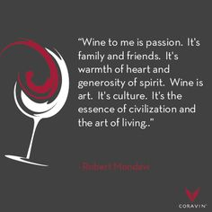 What do you love about wine?