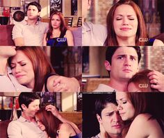 James Lafferty (Nathan Scott) & Bethany Joy Lenz (Haley James-Scott) - One Tree Hill