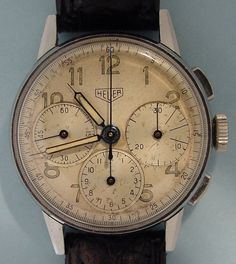 Tag Heuer 1940 chronograph watch ~