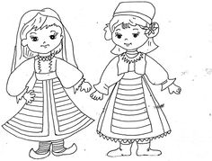 Copii #romania #decolorat #coloringpages #drawings #children #kids #kidsactivities #freeprintable Teaching Kindergarten, Preschool, Transylvania Romania, Old Books, Nice To Meet, Drawing S, 1 Decembrie, Free Printables, Coloring Pages