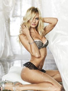 Candice for Victoria's Secret Holiday 2012 campaign