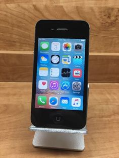 Apple iPhone 4s - 16GB - Black (UNLOCKED) Smartphone Item 2793 | eBay