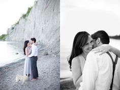 Scarborough Bluffs Toronto Engagement Shoot  View More: http://www.3photography.ca/5950/scarborough-bluffs-toronto-engagement-shoot/