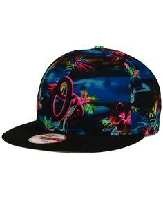 New Era Baltimore Orioles Dark Tropic 9FIFTY Snapback Cap