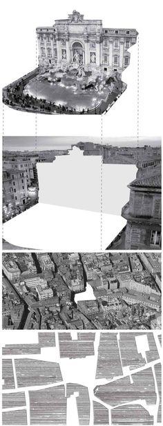 cutouts-2 Architecture Mapping, Architecture Collage, Architecture Drawings, Architecture Plan, Amazing Architecture, Landscape Architecture, Architecture Diagrams, City Collage, Diagram Design
