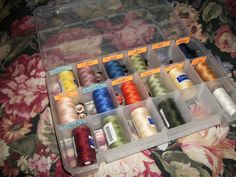 Creative ways for storing threads and bobbins - Page 4