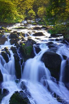 Swallow Falls Waterfall - Betws-y-Coed