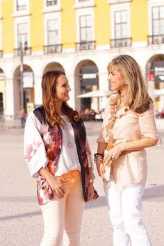 Interview with the writer Isabel Machado | 16 of April | Terreiro do Paço, Lisbon.    Photo Credits Rute Obadia