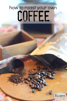 """How To Roast Coffee Beans Because freshly ground beans are ridiculously delicious. More freshness. More flavor. Even more """"oomph"""" in Dad's morning cup of coffee. Great Coffee, Hot Coffee, Coffee Break, Iced Coffee, Coffee Drinks, Coffee Cups, Starbucks Coffee, Coffee Meme, Coffee Plant"""
