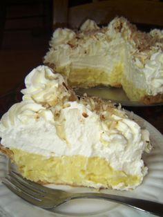 Mile High Coconut Cream Pie