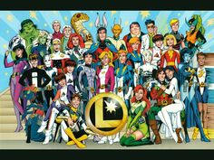 MAN OF BRONZE: The Legion of Superheroes by Alan Davis