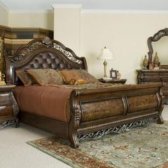 1000 Images About Bed On Pinterest Sleigh Beds Nebraska Furniture Mart And California King