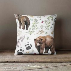 Want to give a little sparkle or dazzle to any nursery or toddler room? This fun vibrant print would be a fun addition to any room! Pillow coves come in 3 sizes with 2 different fabric choice options,